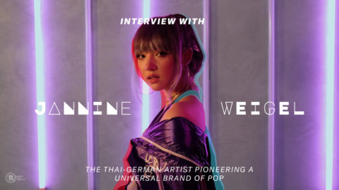 Q&A with Jannine Weigel – The Thai-German Artist Pioneering A Universal Brand of Pop