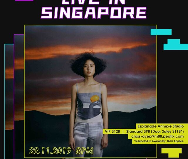 Jazz/R&B Chanteuse 9m88 Stages Showcase In Singapore 28th November, Tickets On Sale Now