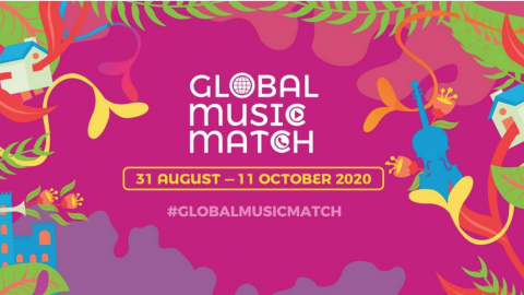Taiwanese Artists Leaf Yeh, Suming, Outlet Drift, Cemelesai & Faye Hong Join The First Global Music Match Campaign, Uniting Musicians Worldwide