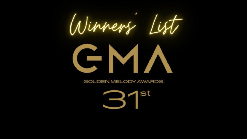 31st Golden Melody Awards: Winners' List – Abao, Hsieh Ming-Yu and Misa win big and Waa Wei bags first ever Female Vocalist win